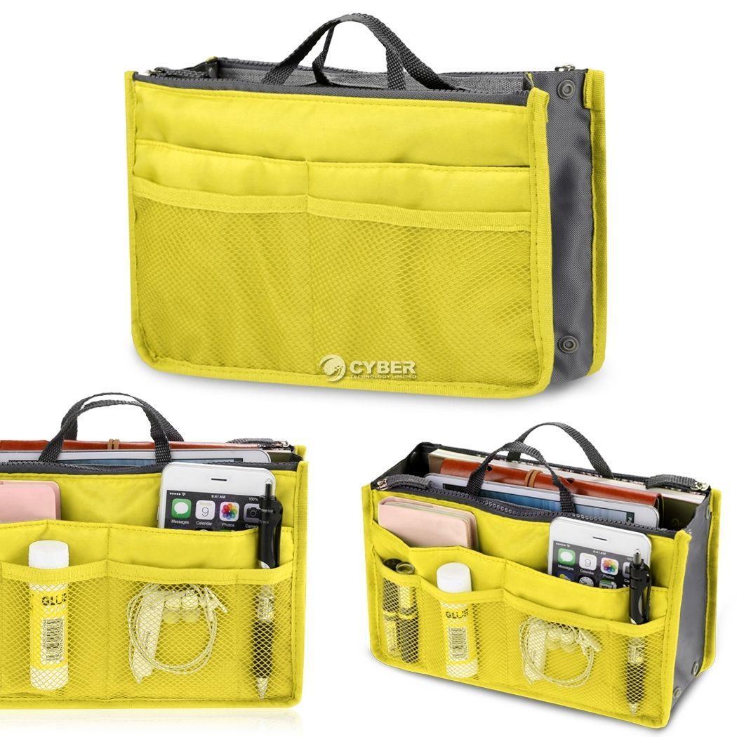 9ba62aba95 Philippines. Sweethouse Women Purse Practical Handbag Bag Nylon Dual  Organizer Insert Cosmetic Storage