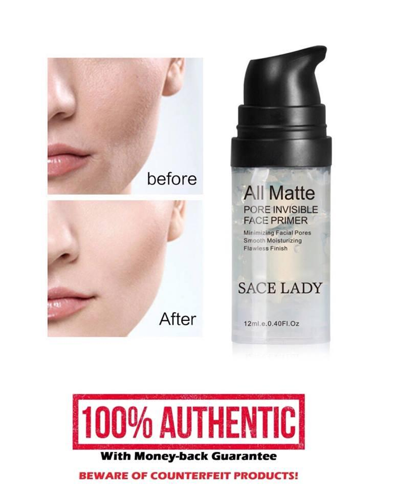 Authentic All Matte Pore Invisible Face Primer Flawless Finish Philippines