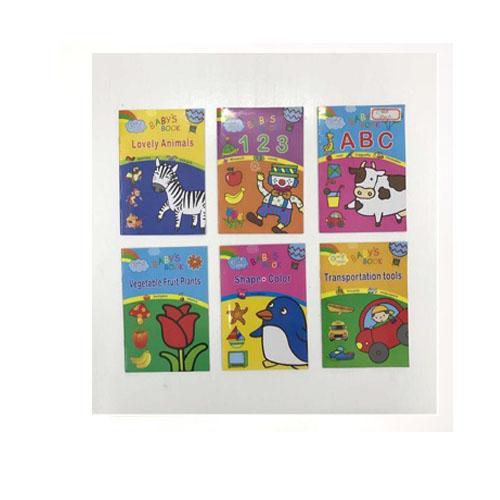 Baby Toddler Educational Book Set Of 6 By Seasonal Sales.