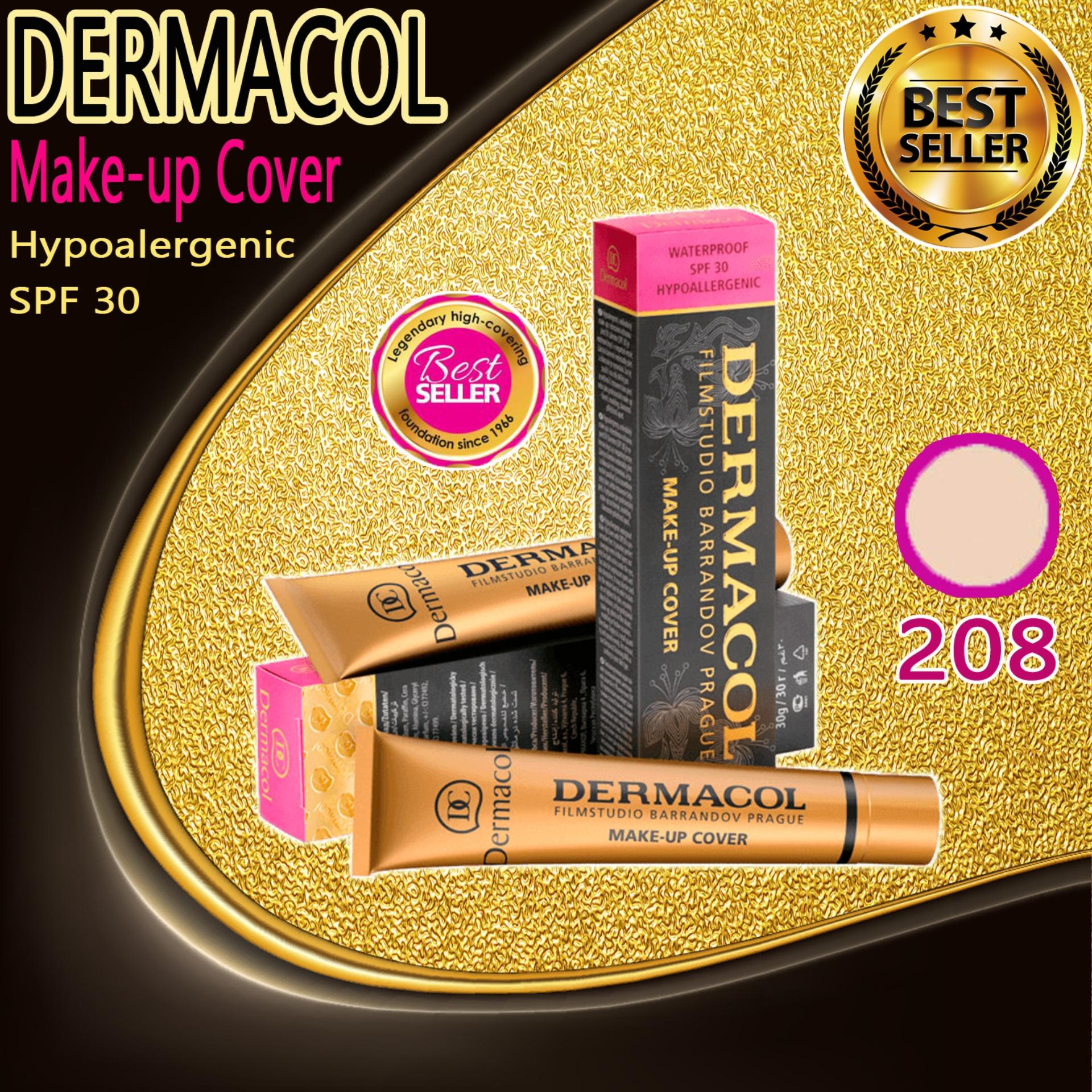Dermacol Make-up Cover Foundation  Shade No.208 Philippines