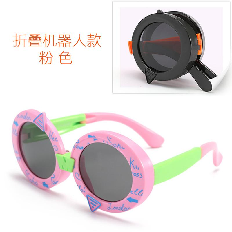 b7b80d07f0 2019 Cartoon UV Children Glasses Sunglasses Polarized Light boy men Girls  Sun Glasses College Style Schick