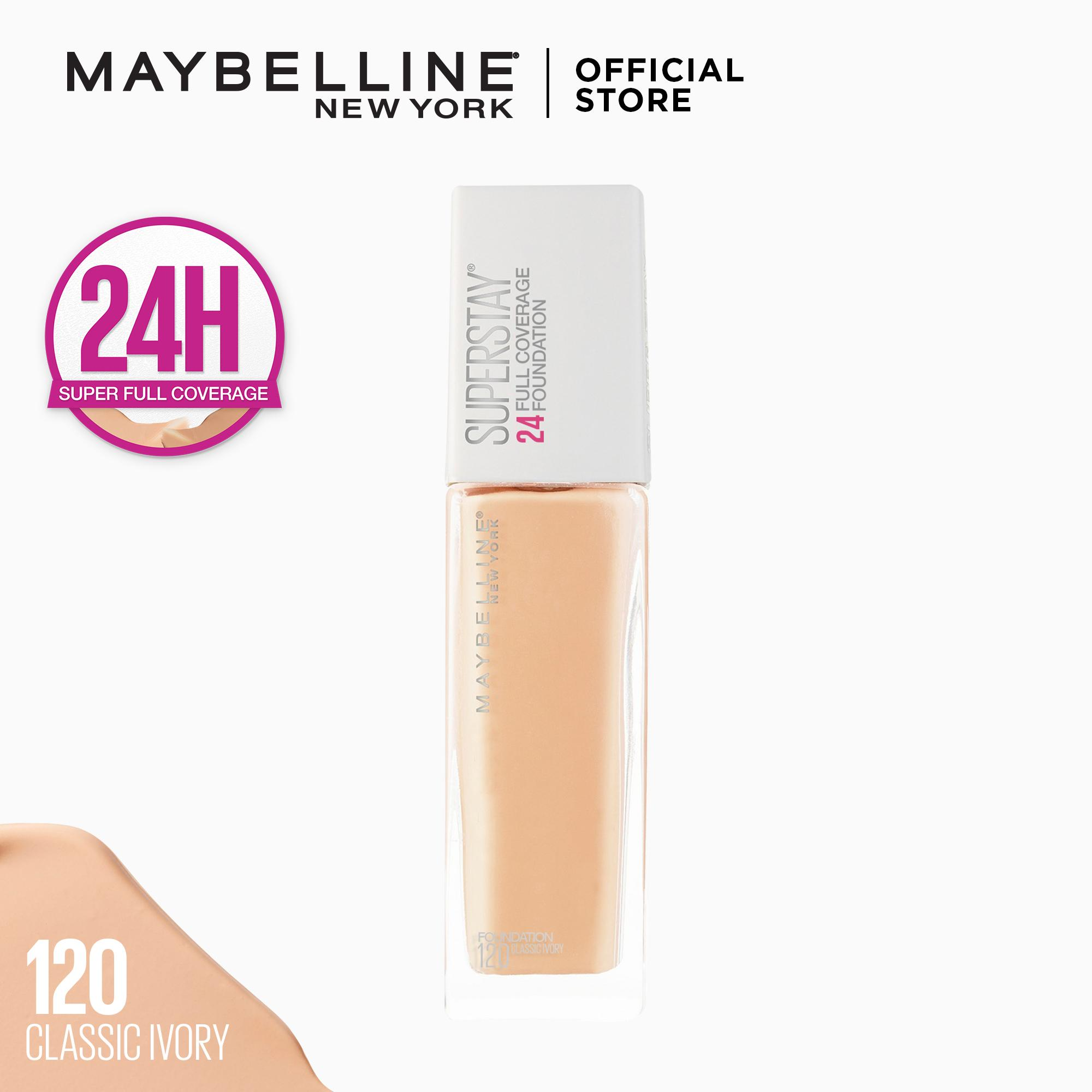 Superstay 24h Full Coverage Foundation By Maybelline By Maybelline.