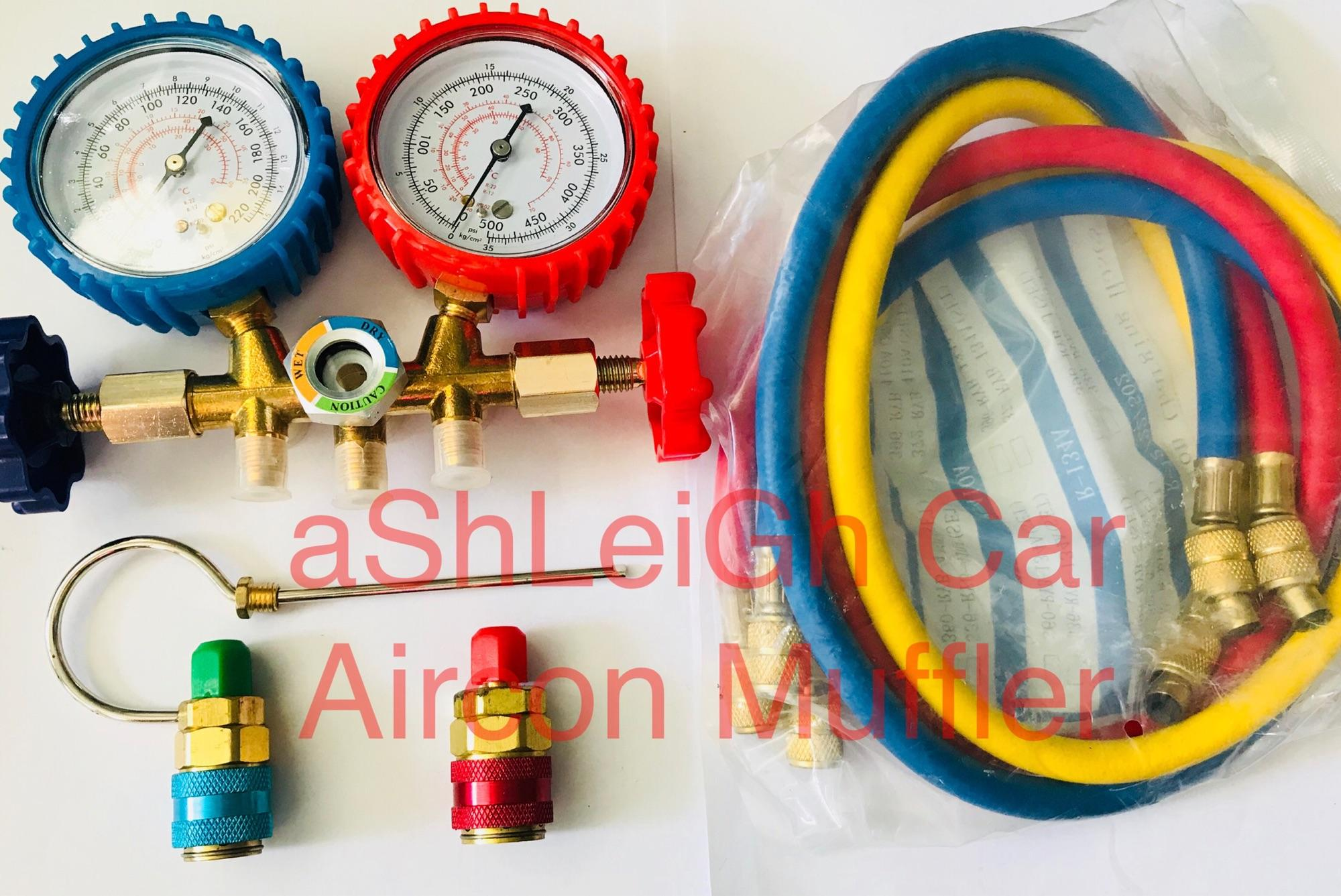 Car Cooling System For Sale Auto Cooler Online Brands Prices Stc 1000 Temperature Controller Wiring Also 2005 Honda Civic Aircon Manifold Gauge W Pair Coupler R134 R22 Heavy Duty Set 134a