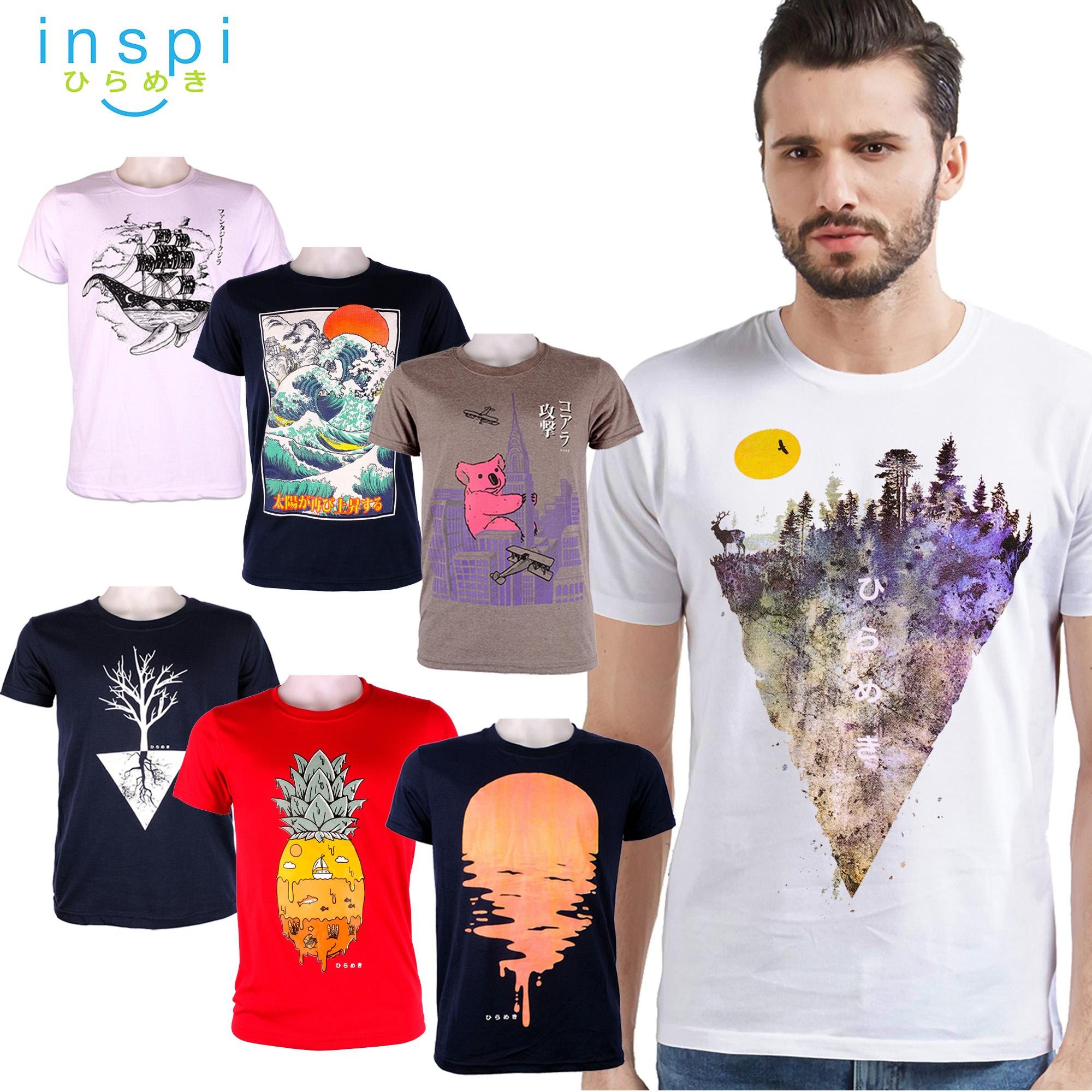 4bdbe8225fe INSPI Tees Nature Collection tshirt printed graphic tee Mens t shirt shirts  for men tshirts sale