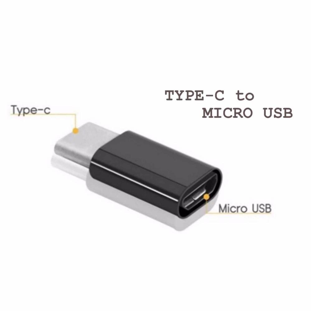 USB C Type C Male to Micro USB OTG Mini Adapter .