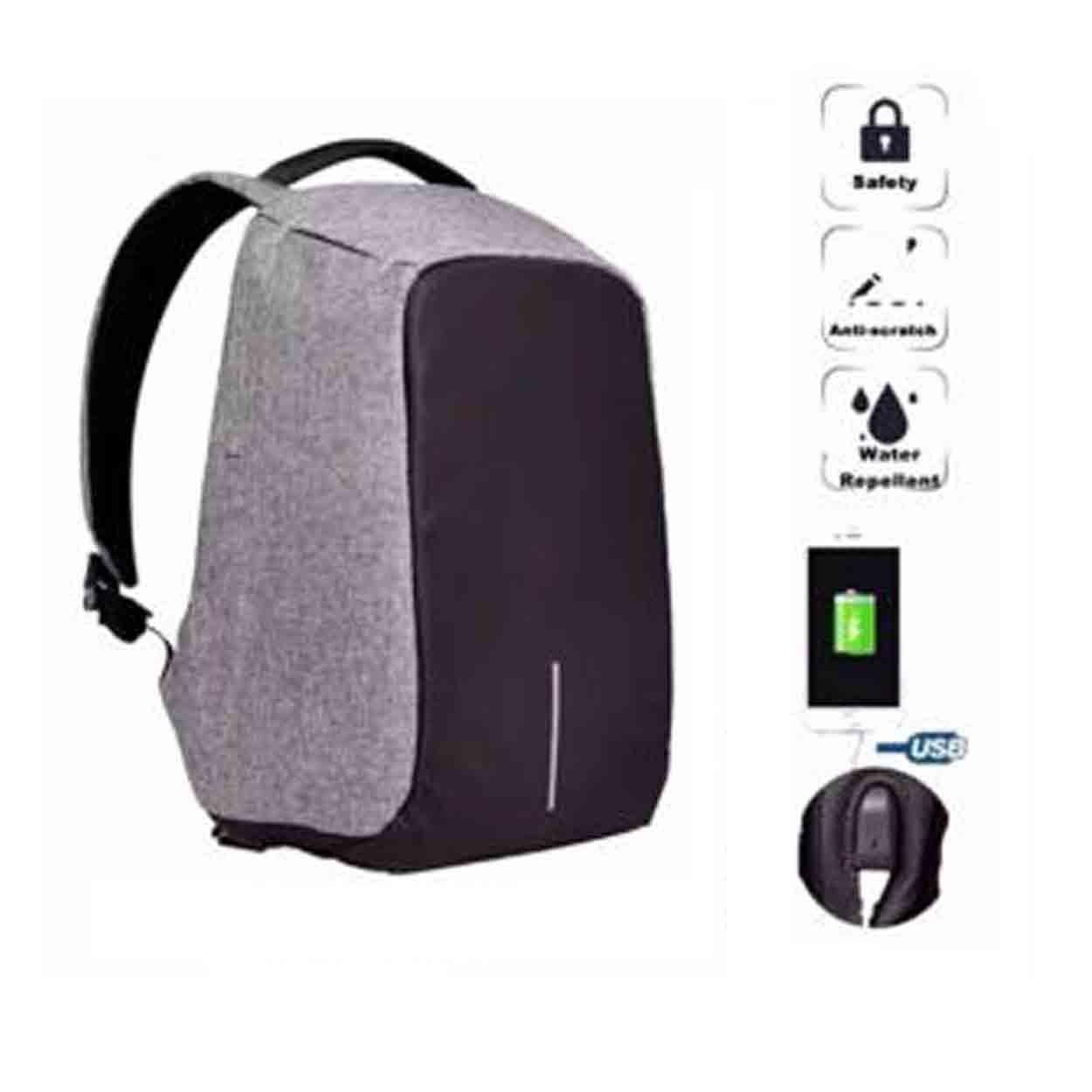6f46afc5f50 NEW USB Charge Anti Theft Backpack Men Travel Security School Bags College  Teenage Male Laptop Backpack