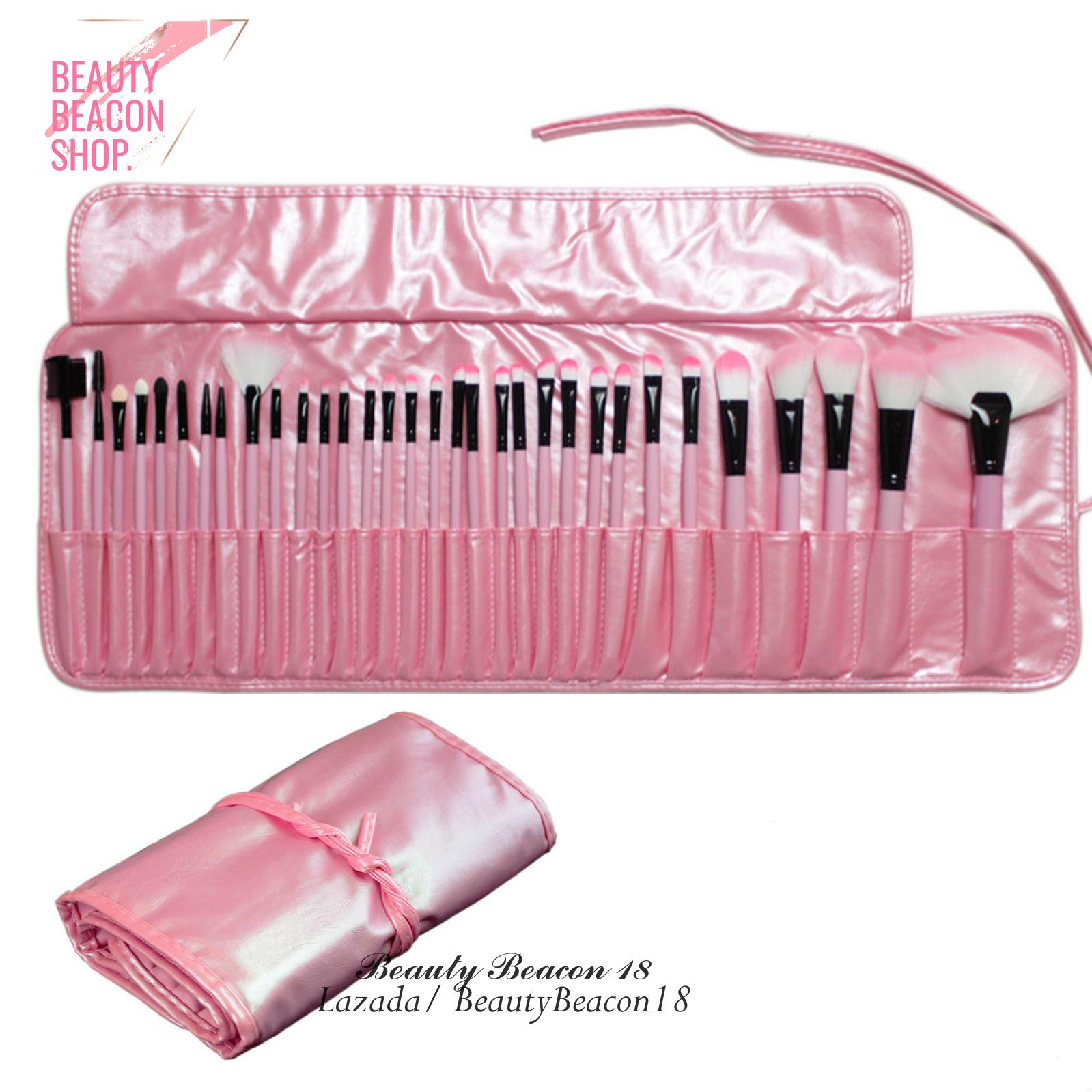 32Pcs Makeup Brushes Professional Soft Cosmetics Make Up Brush Set ( Pink ) Philippines