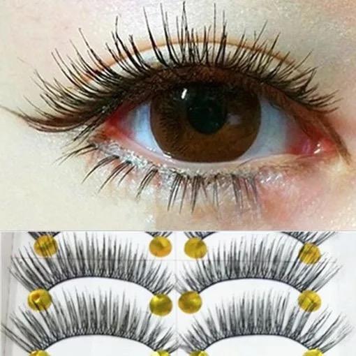 Eye Voluminous Fake Women's Lashes Eyelashes Makeup 10 Pairs Philippines