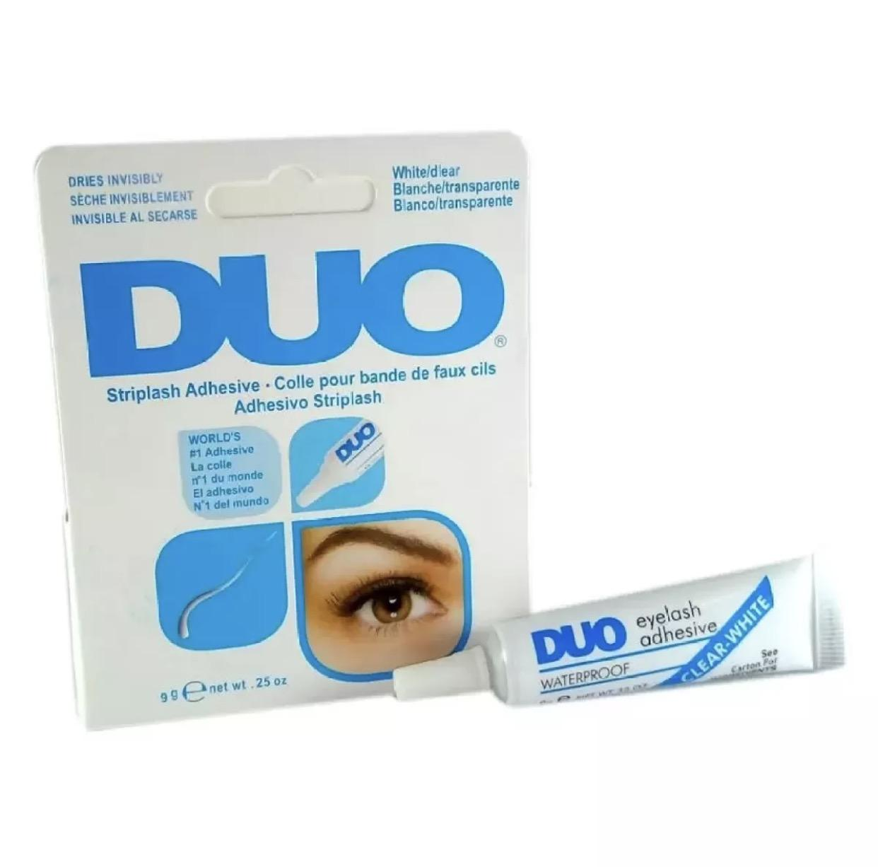 DUO Eyelash Adhesive Eyelash Glue Waterproof False Eyelash White 9g Philippines