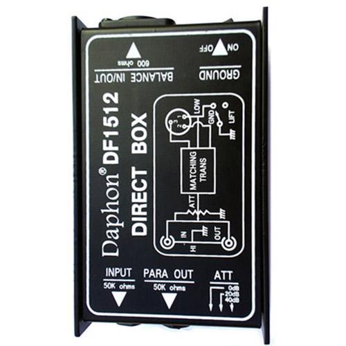 Daphon Df1512 Passive Direct Box / Di Box By Vape E-Store.