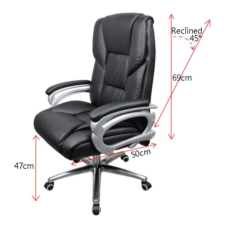 Leather Office Chair Contemporary Ideas Executive Chair 504 Black Lazada Ph