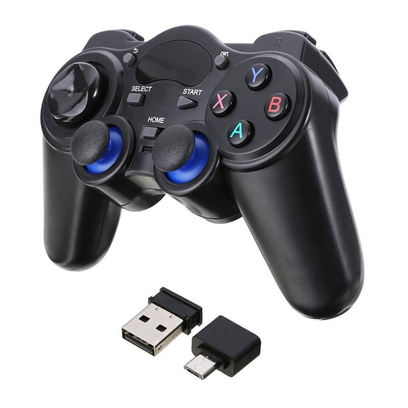 OS 2.4G Wireless Gaming Controller Gamepad for Android Tablets PC TV Box modle: micro