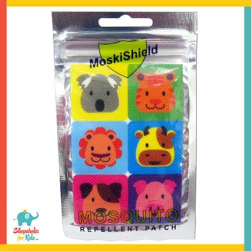 Moskishield Mosquito Repellent Patch 6pcs (pack Of 2) By Shopaholic For Kids.