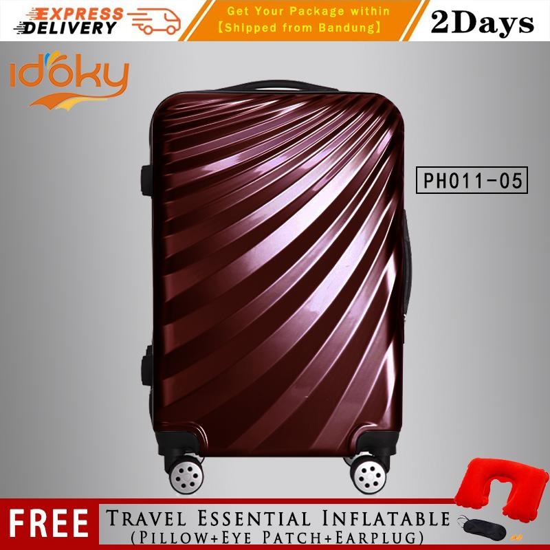 6125eae474  Idoky PH011 Series Premium Universal 25 Inch Wheel Rolling Suitcase With  Hard Case Luggage