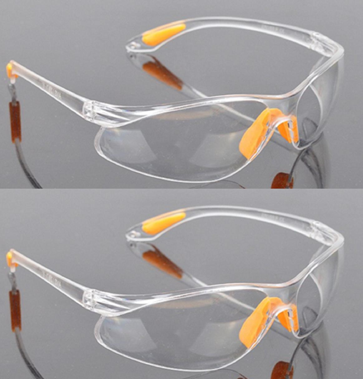 f7bf1592363c Dustproof Security Goggles PC Eye Protector Safety Labor Glasses With Free  Pouch And Free