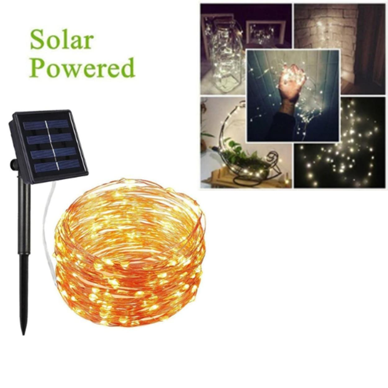 Outdoor Lighting For Sale Lights Prices Brands Review Light Unit And Method On Wiring A Switch To An Outside 10m Waterproof Solar Powered Copper Wire Led String Fairy Christmas Garden Holiday