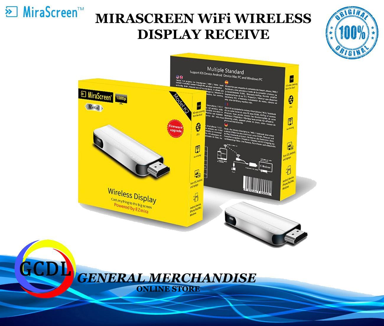 MiraScreen K2 Wireless TV Stick HDMI Dongle Display Receiver