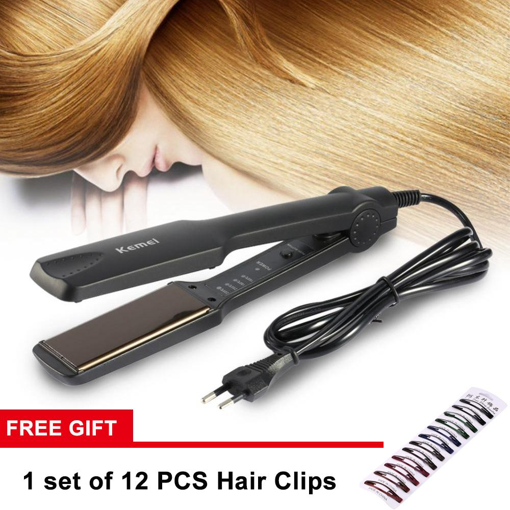 Hair Straightener Brands Flat Iron On Sale Prices Set Free Ongkir Philips Dry Hd 1173 40 Giftprofessional Temperature Control Hairdressing Tools Intl