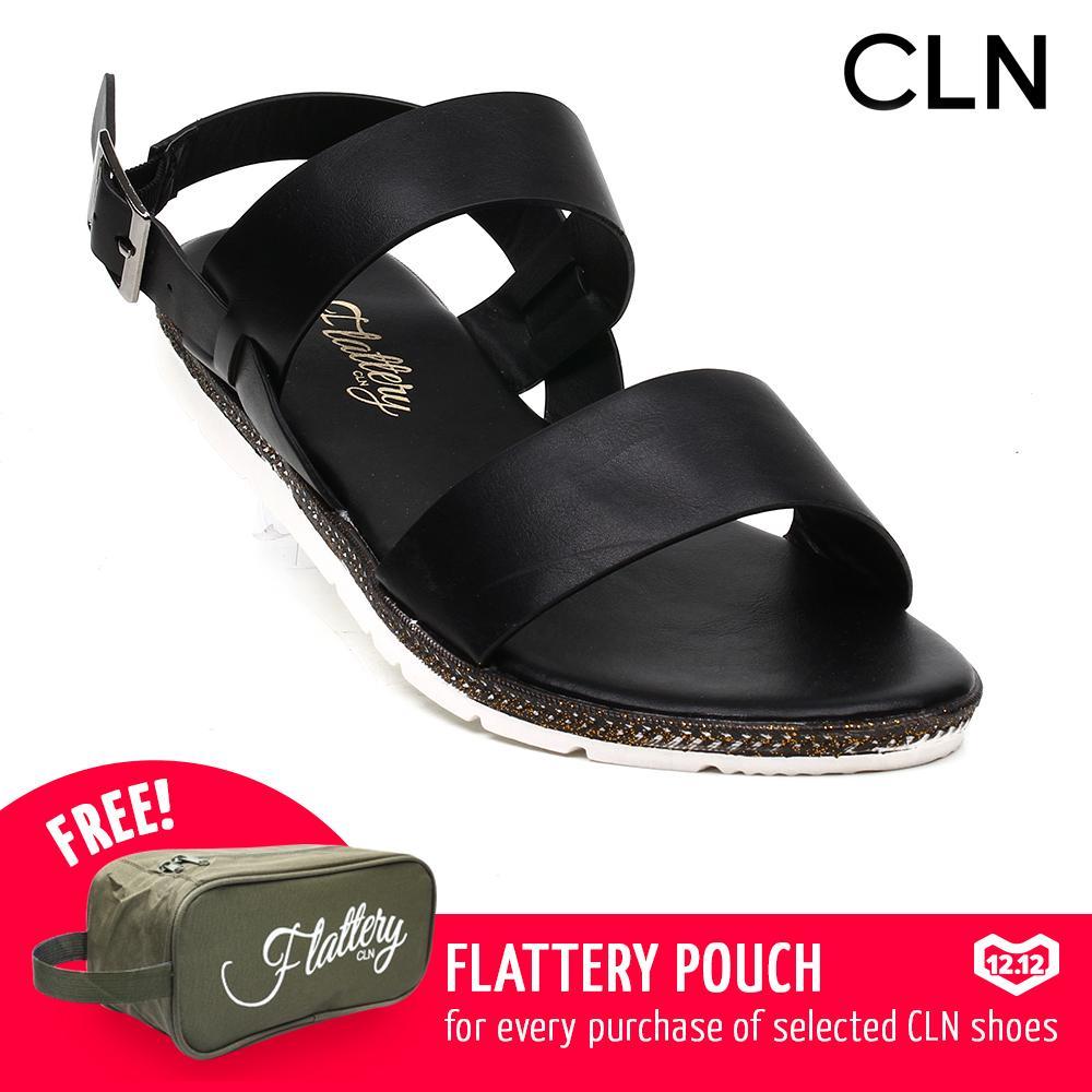 Flat Sandals For Women Sale Summer Online Brands Lady Jelly Shoes Sepatu Sendal Wanita Cln 17g Levine Black