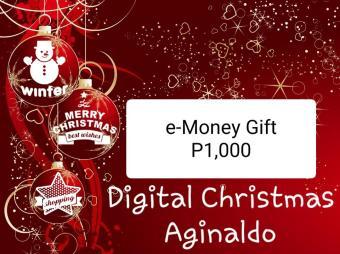 Digital Christmas Aginaldo worth P1,000