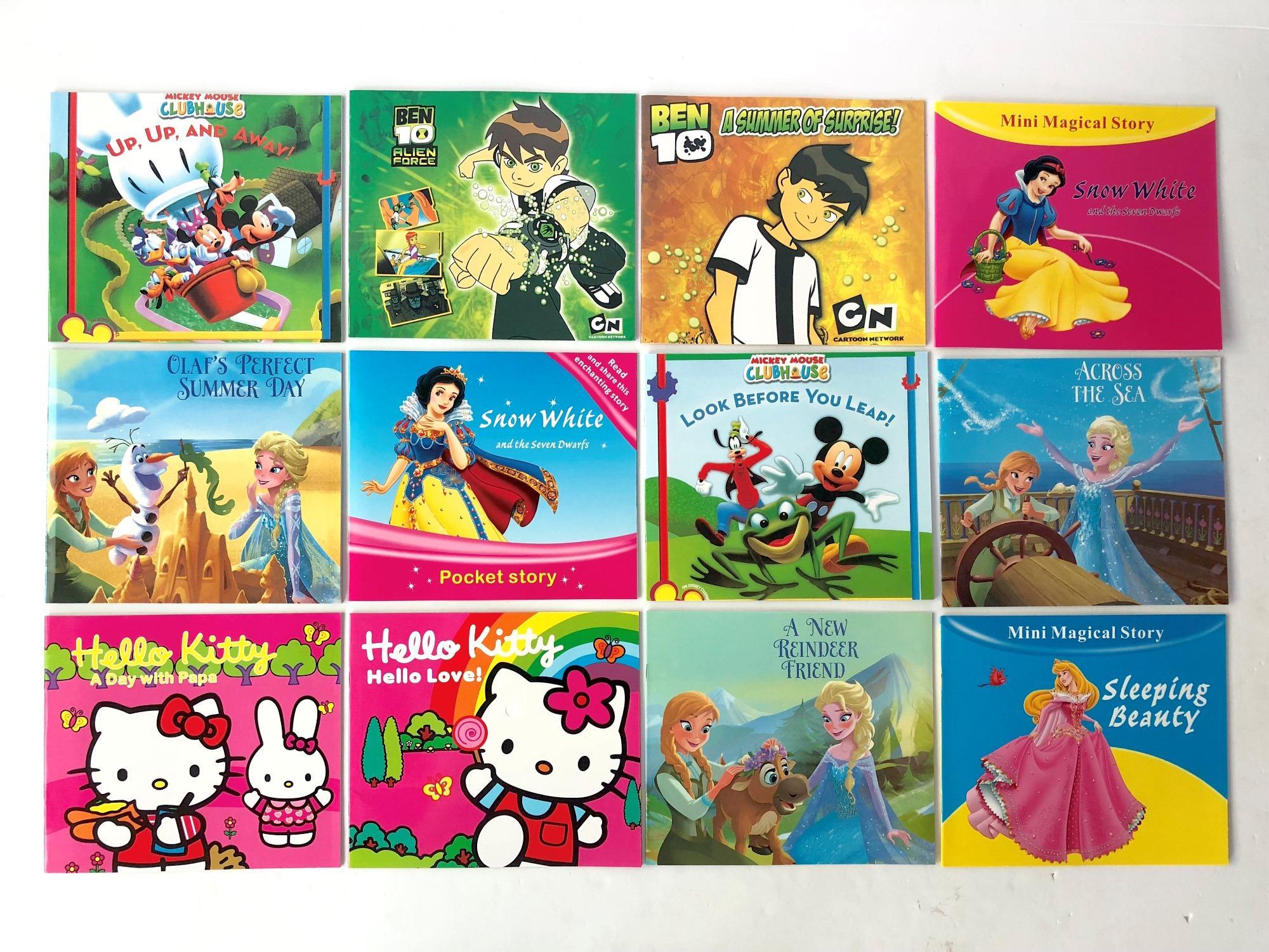 12pcs Story Books Set By Yjj Merchandise.