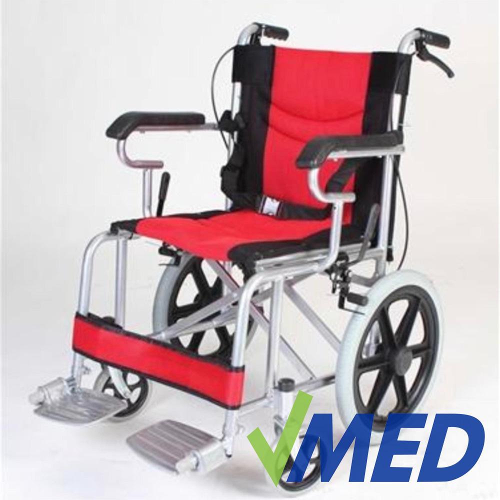 VMED Heavy Duty Lightweight Travel Wheelchair