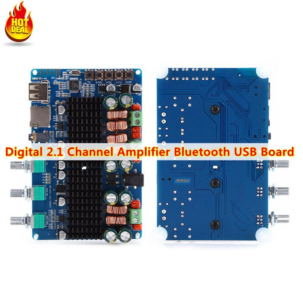 Oem Philippines Audio Amplifier For Sale Prices Reviews Preamp Module Volume Control Headphone Board Diy Qianmei Digital 21 Channel Bluetooth Usb Tf Input 50w Stereo 100w Subwoofer