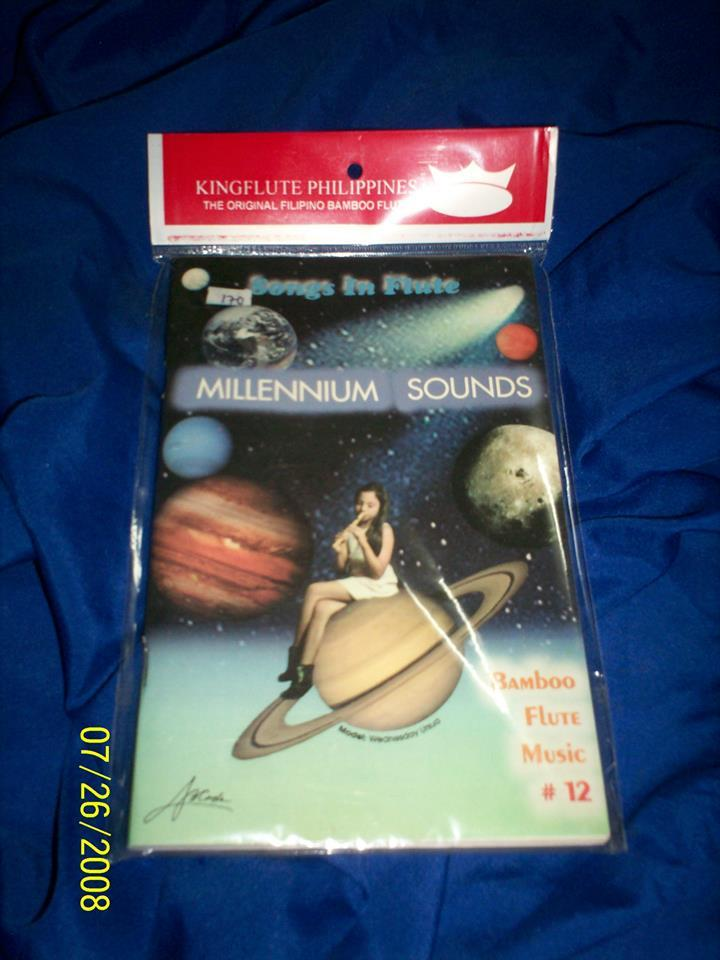 Kingflute Millennium Sound Book 12 (black) By Bamboo Instruments And Bamboo Products.