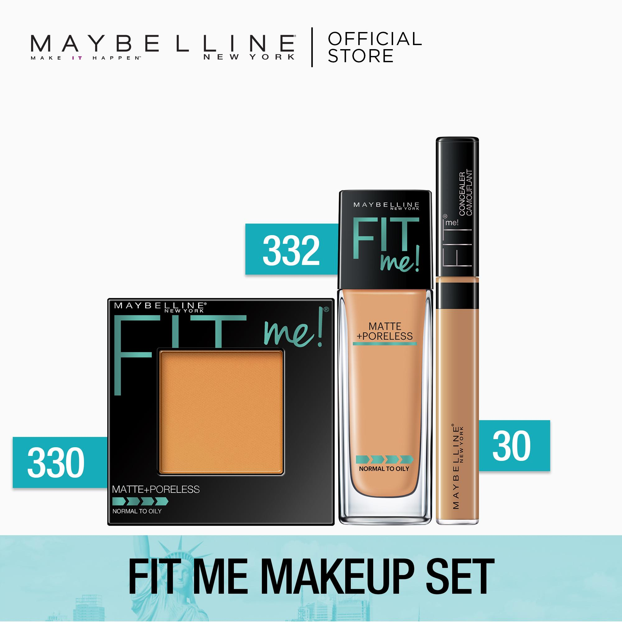Fit Me Makeup Set by Maybelline Philippines