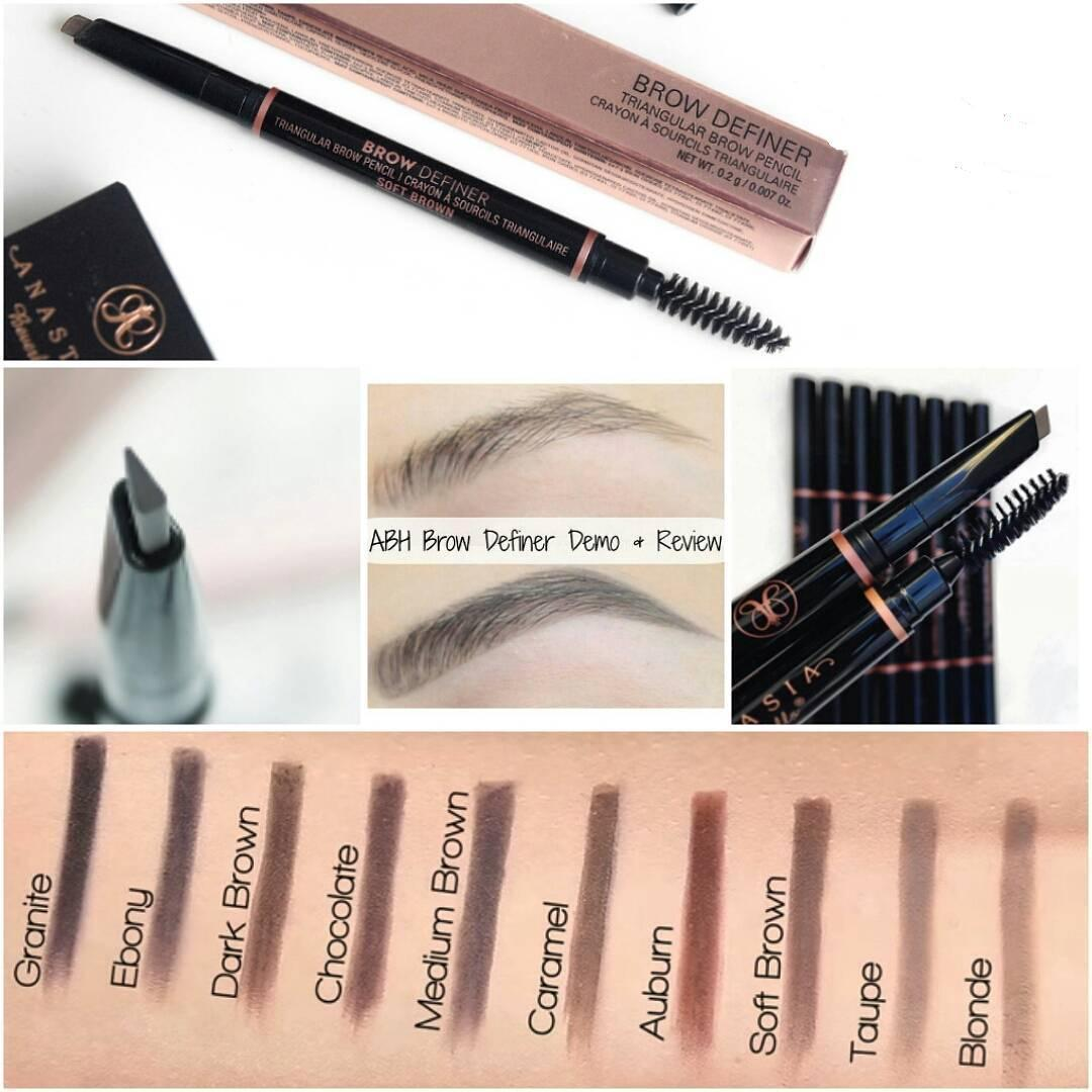 Anastasia Beverly Hills brow Definer Retractable Eyeliner ( Dark brown) Philippines