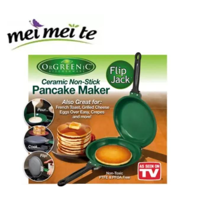 As Seen On Tv Orgreenic Ceramic Non-Stick Pancake Maker By Drop Box