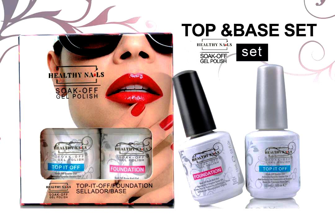 Premium Quality Top and Base Coat Set 15ml Philippines