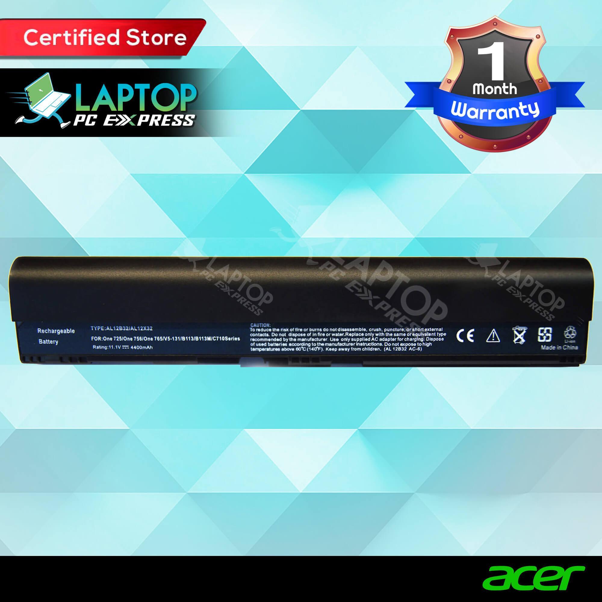 Acer Philippines Computer Batteries For Sale Prices Baterai Laptop Aspire V5 431 431g 471 471g 531 Battery Al12b31 Al12b32 Al12b72 Al12a31 Al12x32 756 171 B113 B113m C7 C710