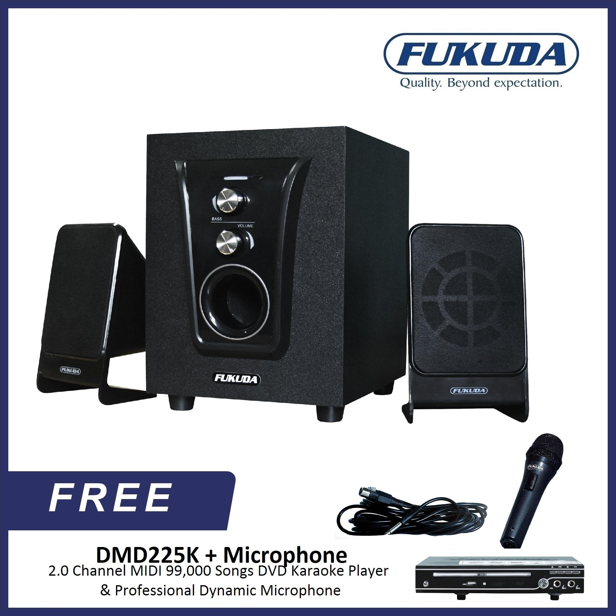 Speaker For Sale Bluetooth Prices Brands Specs In Computers Help Front Control Panel How Is The Audio Mic Wiring Fukuda Fht100i 21 Channel Home Theater Bundle With Dmd225k 20 Midi 99000 Songs Dvd