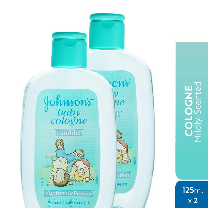 Johnsons Baby Cologne Tumble 125ml X 2 By Johnson & Johnson Ph Official Store.