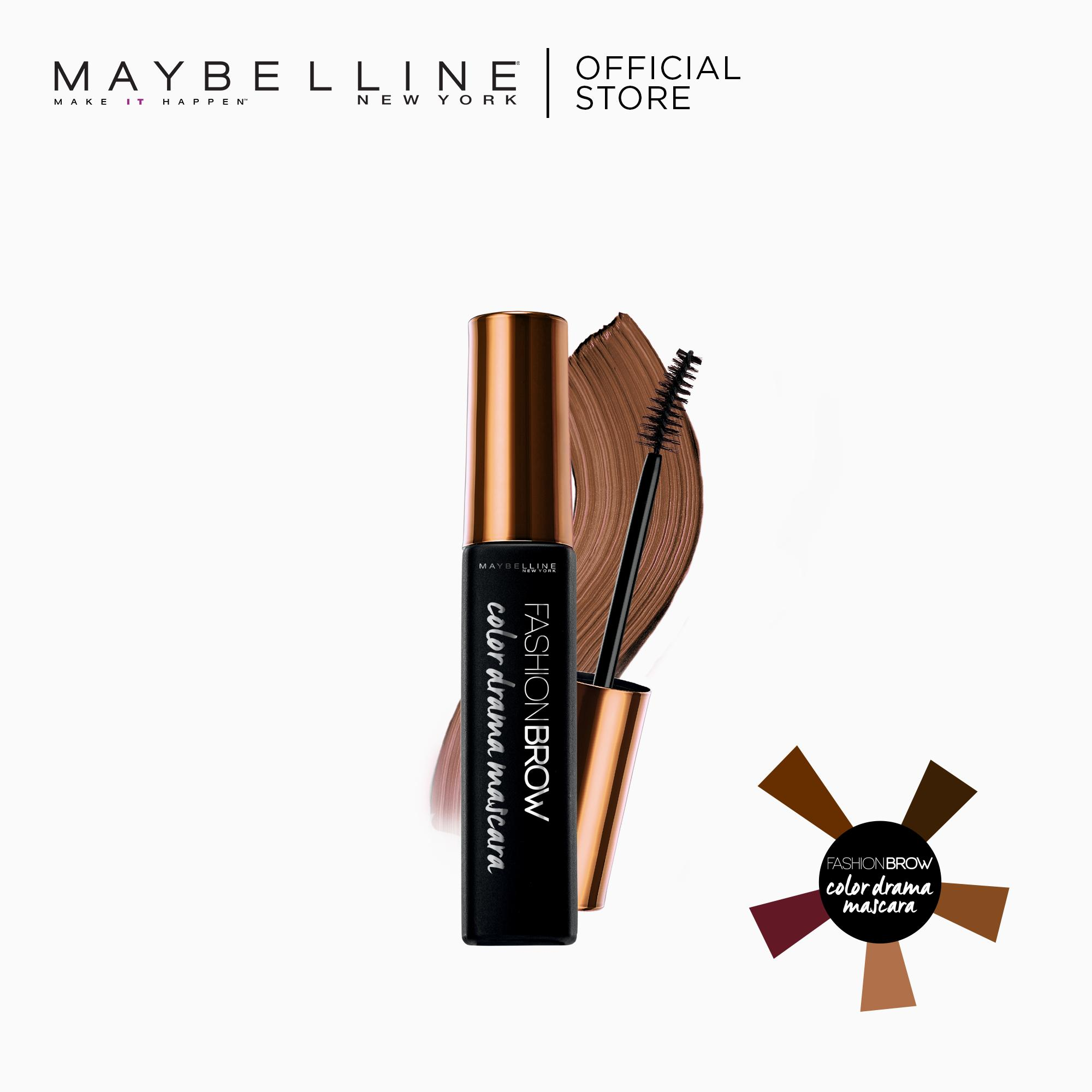Color Drama Mascara - Natural Brown [Vivid Brows] by Maybelline Fashion Brow Philippines