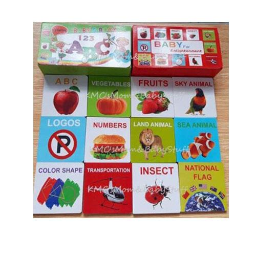 12pcs Educational Mini Board Books With Case By Seasonal Sales.