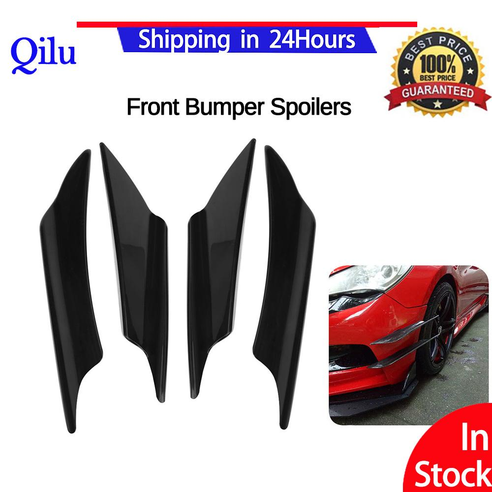 Car Spoilers For Sale Rear Online Brands Prices Honda Jazz Gk5 Ampamp Ge8 Js Racing Floor Bar 50 Offfront Bumper Lip Splitter 4pcs Universal Black Body Spoiler Front