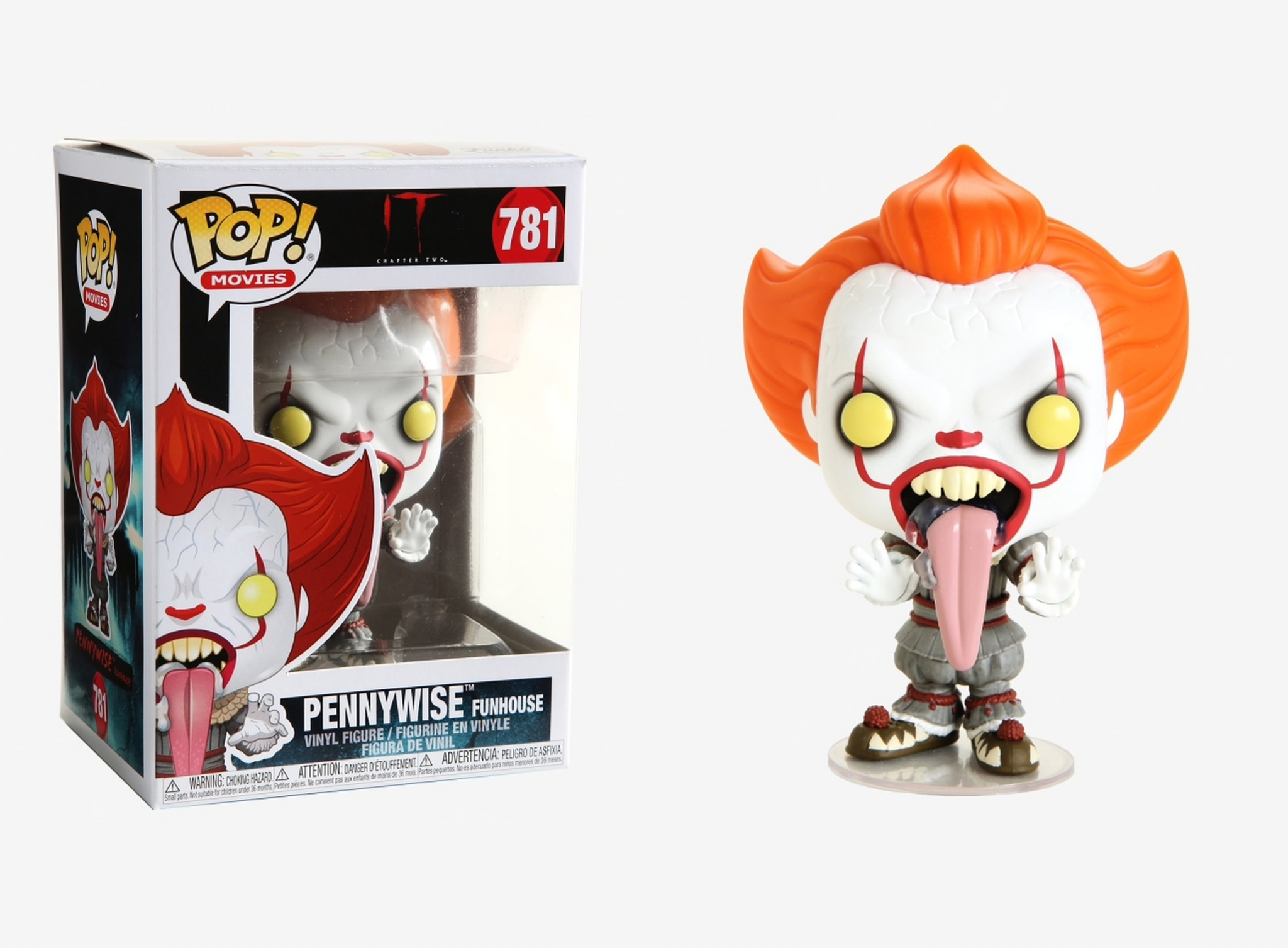 Funko Pop Chapitre 2 #781 Pennywise Funhouse Movies-IL