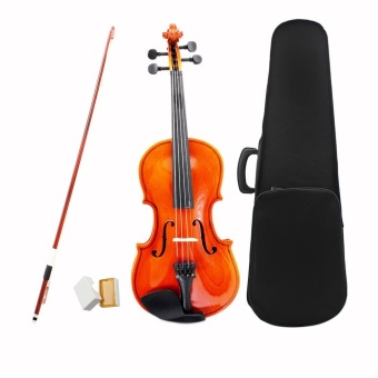 1/4 Violin Fiddle Basswood Steel String Arbor Bow StringedInstrument Musical Toy for Kids Beginners ^ - intl