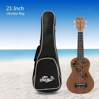 21 Inch Waterproof Soft Case Gig Cotton Ukelele Bag Hawaii Four Strings - intl
