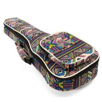 26'' Canvas Soprano Ukulele Concert Ukulele Shoulder/Back Gig Bag Case - Intl