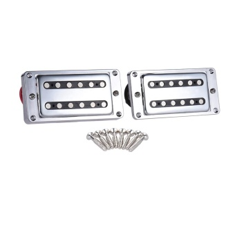 2pcs/set Guitar Sealed Humbucker Pickups Pick-ups Dual Coil for LP Electric Guitars with Mounting Screws ^ - intl