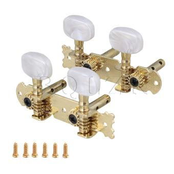 2R2L Open Gear Machine Heads for Ukulele Banjo Design Gold