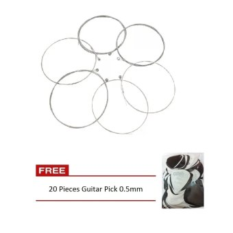 3350R Stainless Steel Electric Guitar String Set with Free 10 PcsGuitar PIck Plain