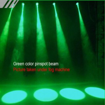 3W Colorful RGB LED laser Pin Spot Stage Light Disco DJ Show BeamEffect Lighting - intl - 5