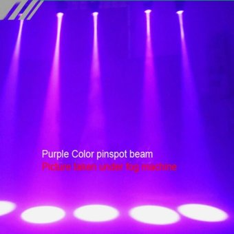 3W Colorful RGB LED laser Pin Spot Stage Light Disco DJ Show BeamEffect Lighting - intl - 2
