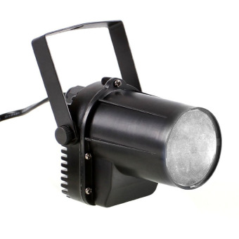 3W LED RED Beam Spotlight Party DJ Bar Stage Lighting Pinspot Ligh eu plug (Intl)