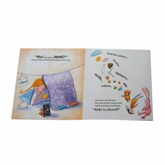 4-pc. Story Books for Children with Free Color Clone Book 123 - 5