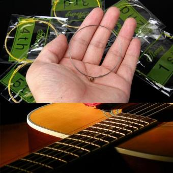 Acoustic Guitar Set of Wooden Guitar 6 Steel Strings - picture 2
